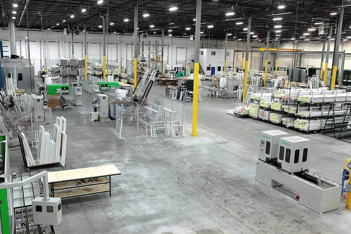 window manufacturers facility